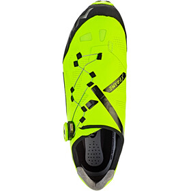 Northwave Ghost XCM Shoes Men yellow fluo/black